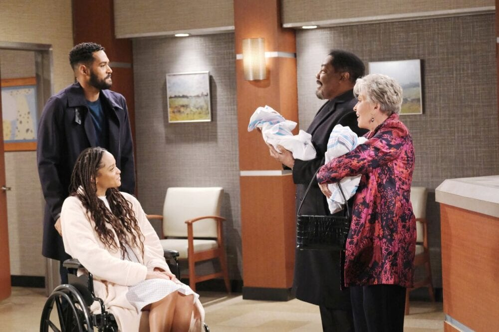 julie, eli, abe, lani and twins days of our lives