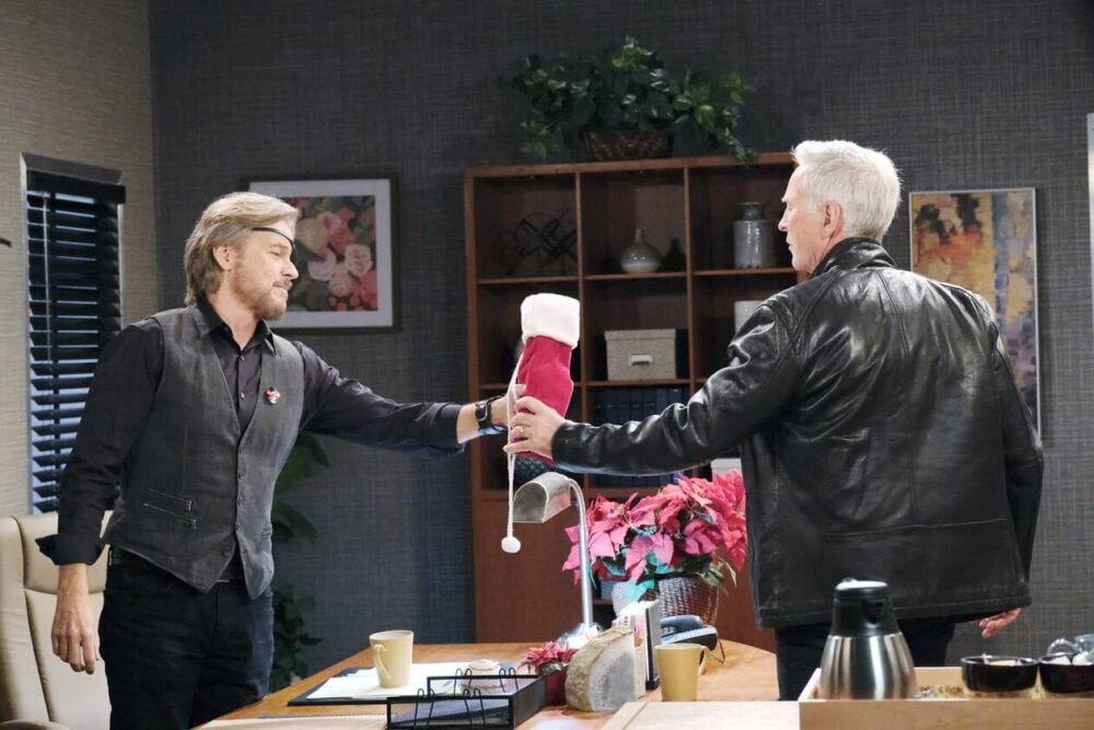 steve and john team up nbc days of our lives
