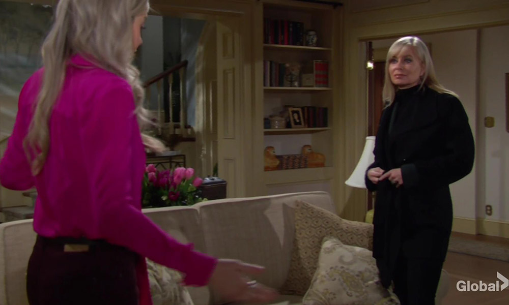 ashley and abby talk babies young and restless