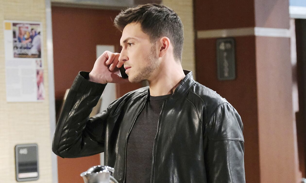 ben on a call days of our lives