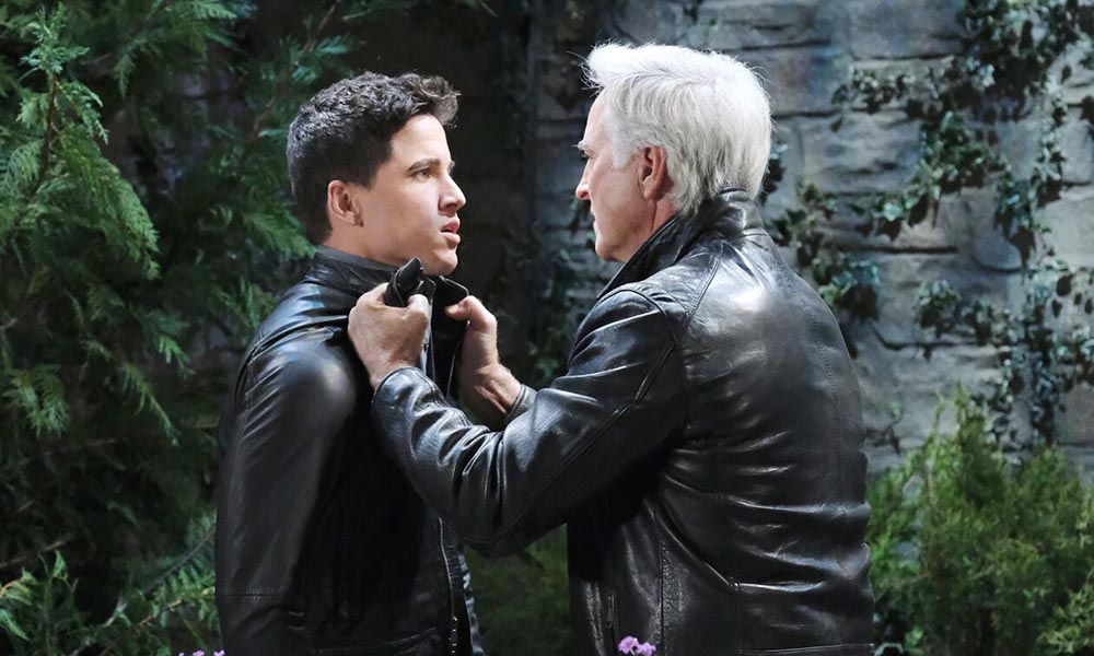 john threatens charlie days of our lives