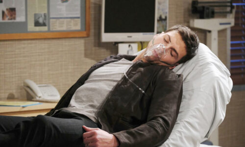 ben needs oxygen after saving ciara days of our lives