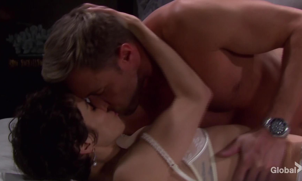 kristen in sarah mask raping rex days of our lives