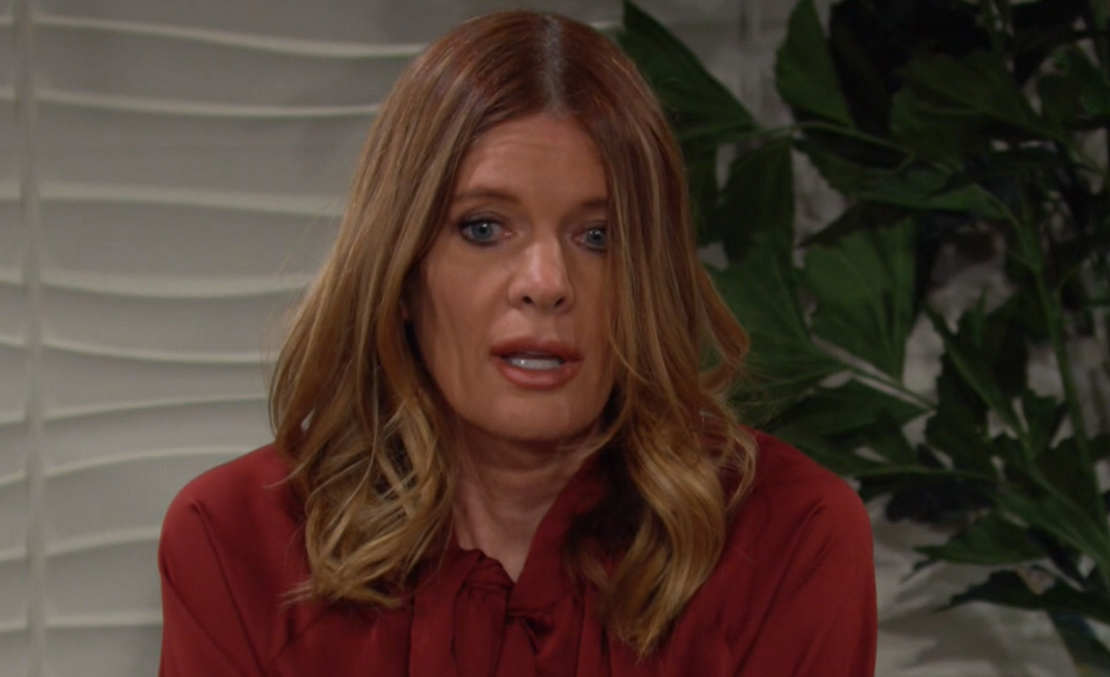 phyllis worried faith young and restless