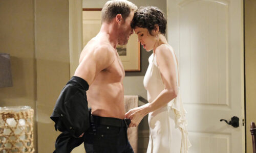 rex and kristen as sarah have sex rape days of our lives