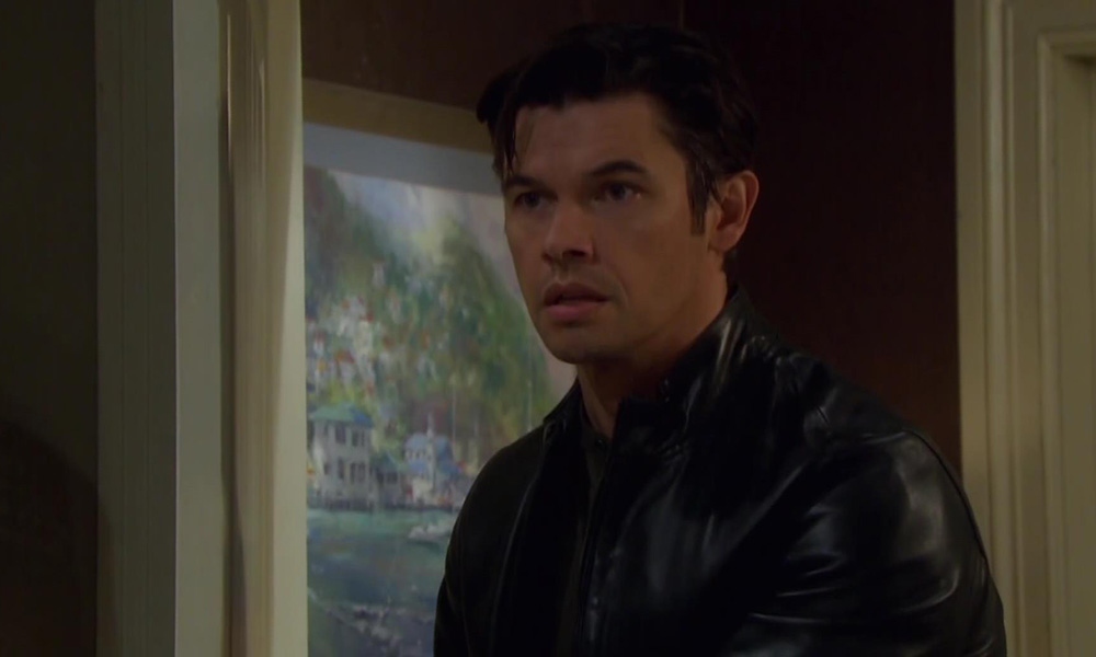 """xander walks in on """"sarah"""" and rex days of our lives"""