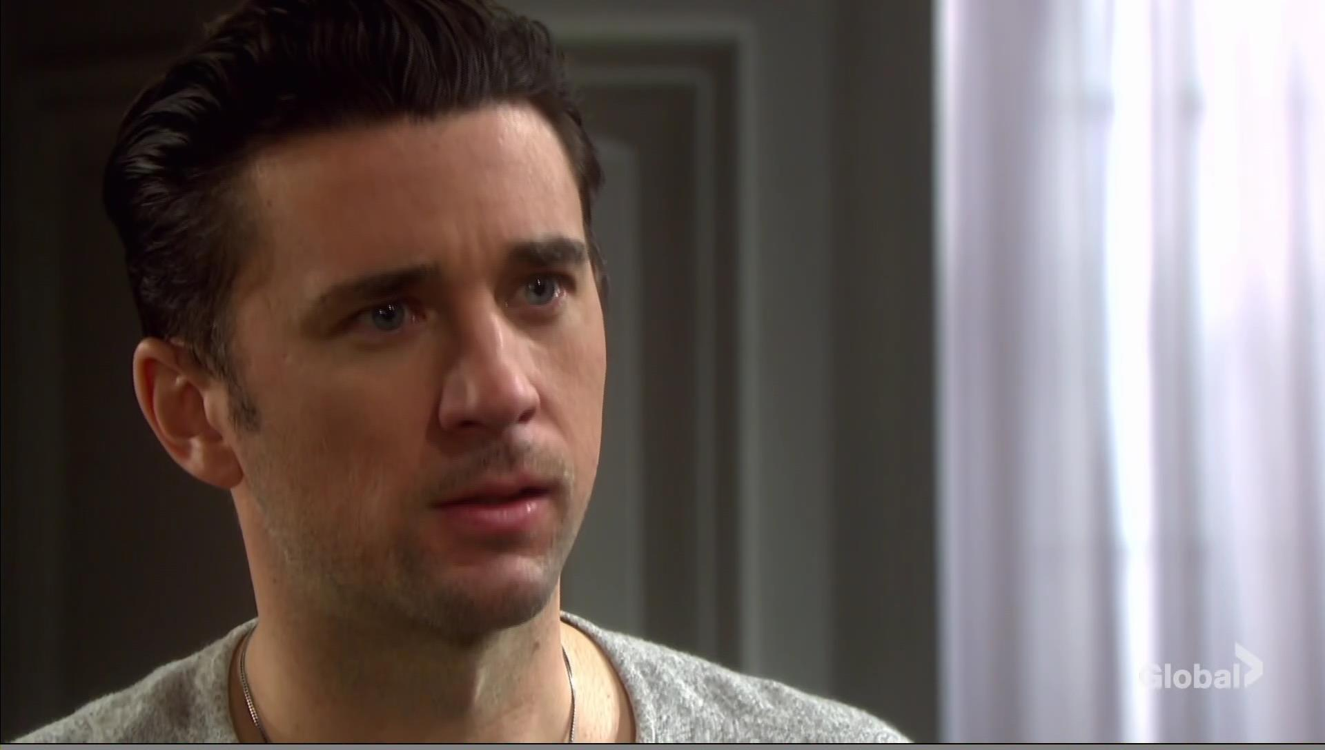 chad learns he'll be a dad days of our lives