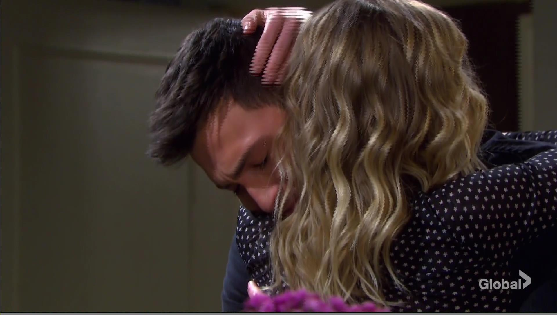 claire hugs ben days of our lives