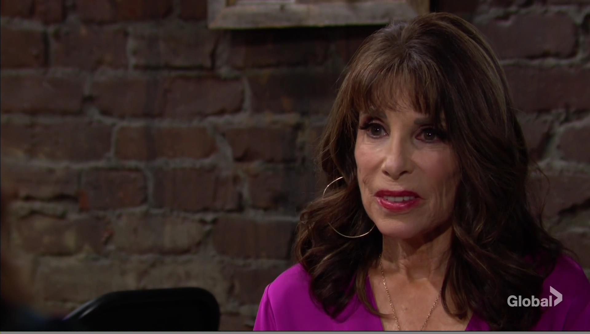 esther talks nina coffee house young restless