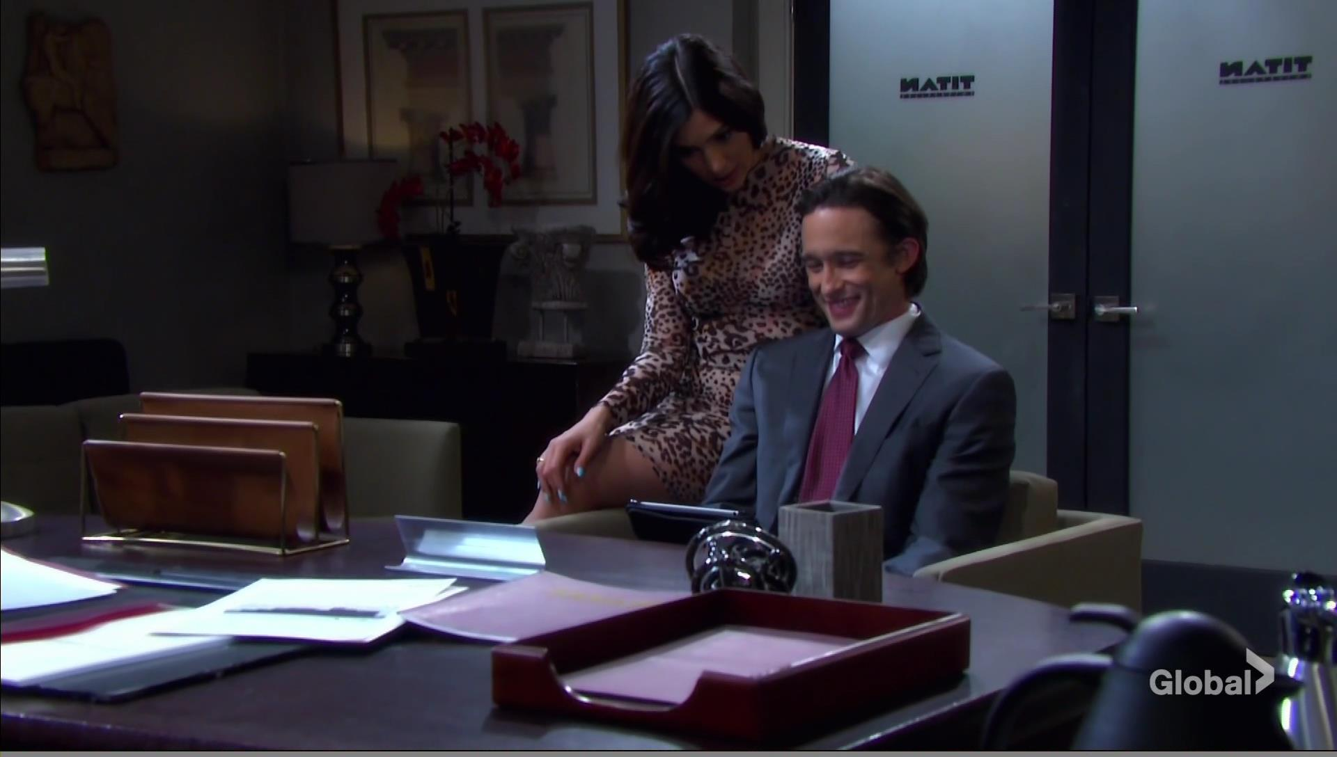 gabi and philip desk days of our lives