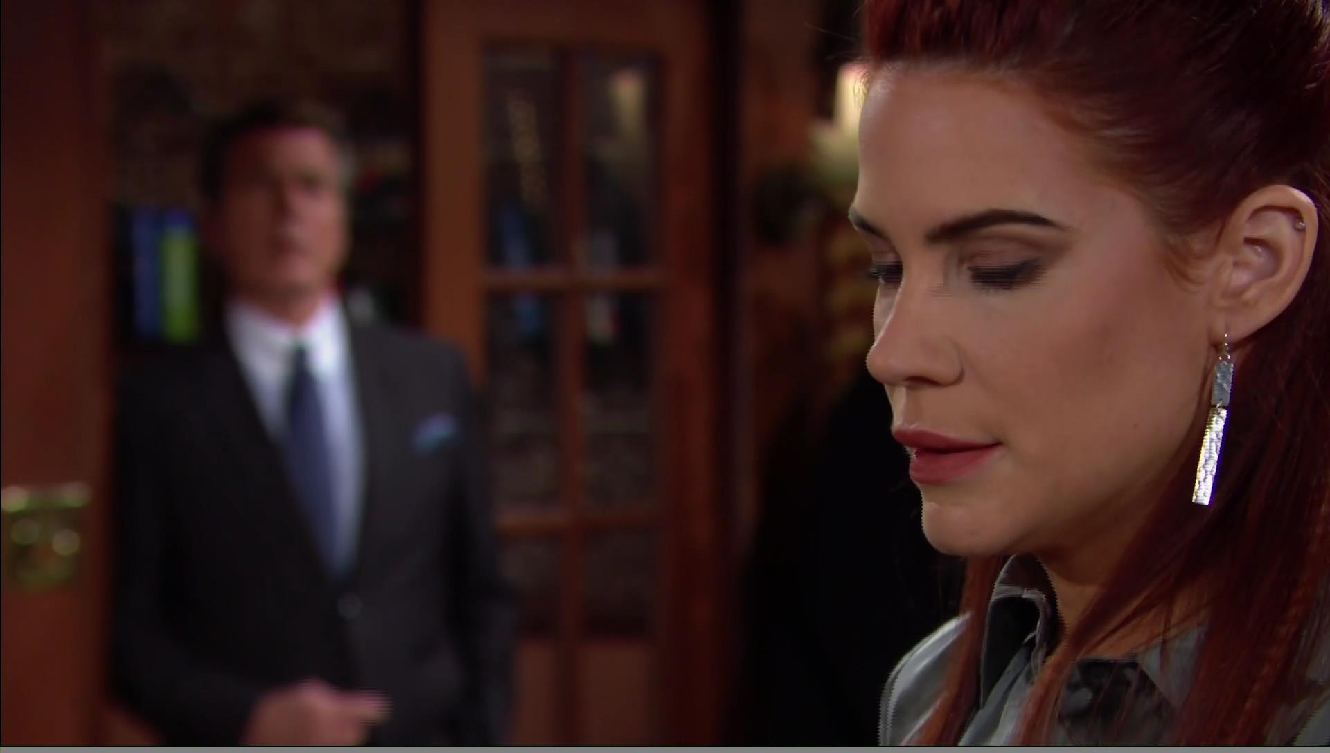 jack eavesdrops on Sally young restless