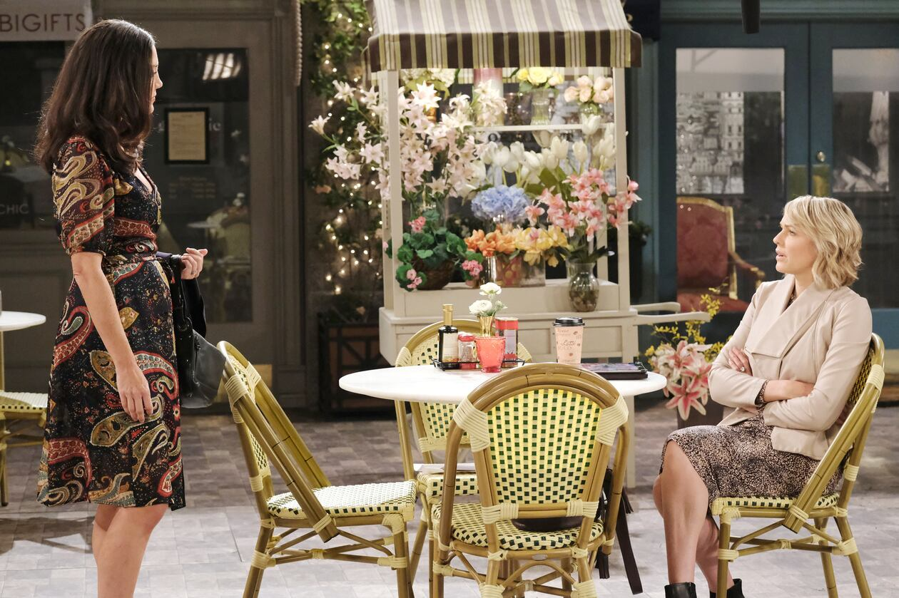 jan and nicole discuss charlie days of our lives