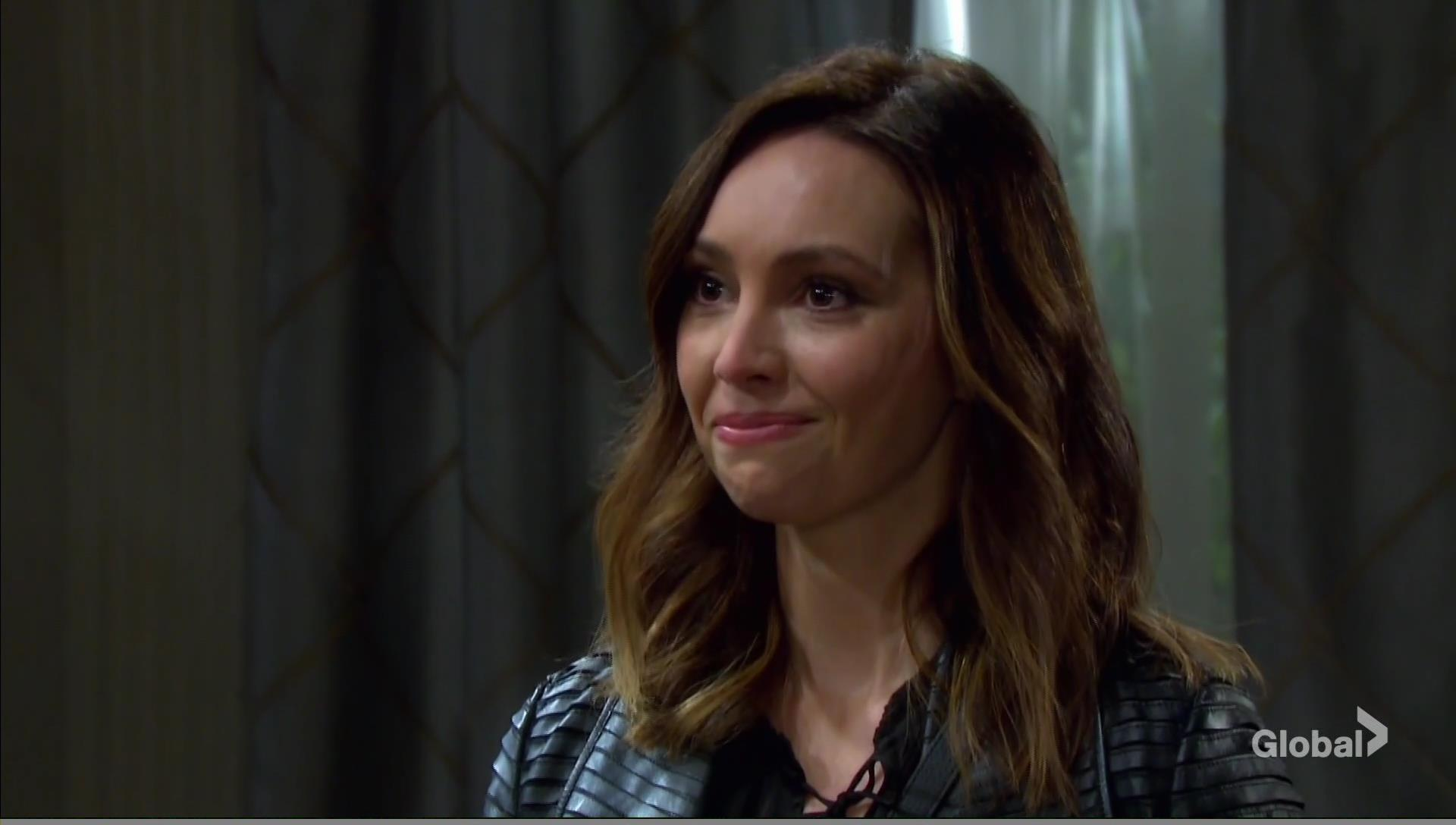 gwen pregnant tells jack days of our lives