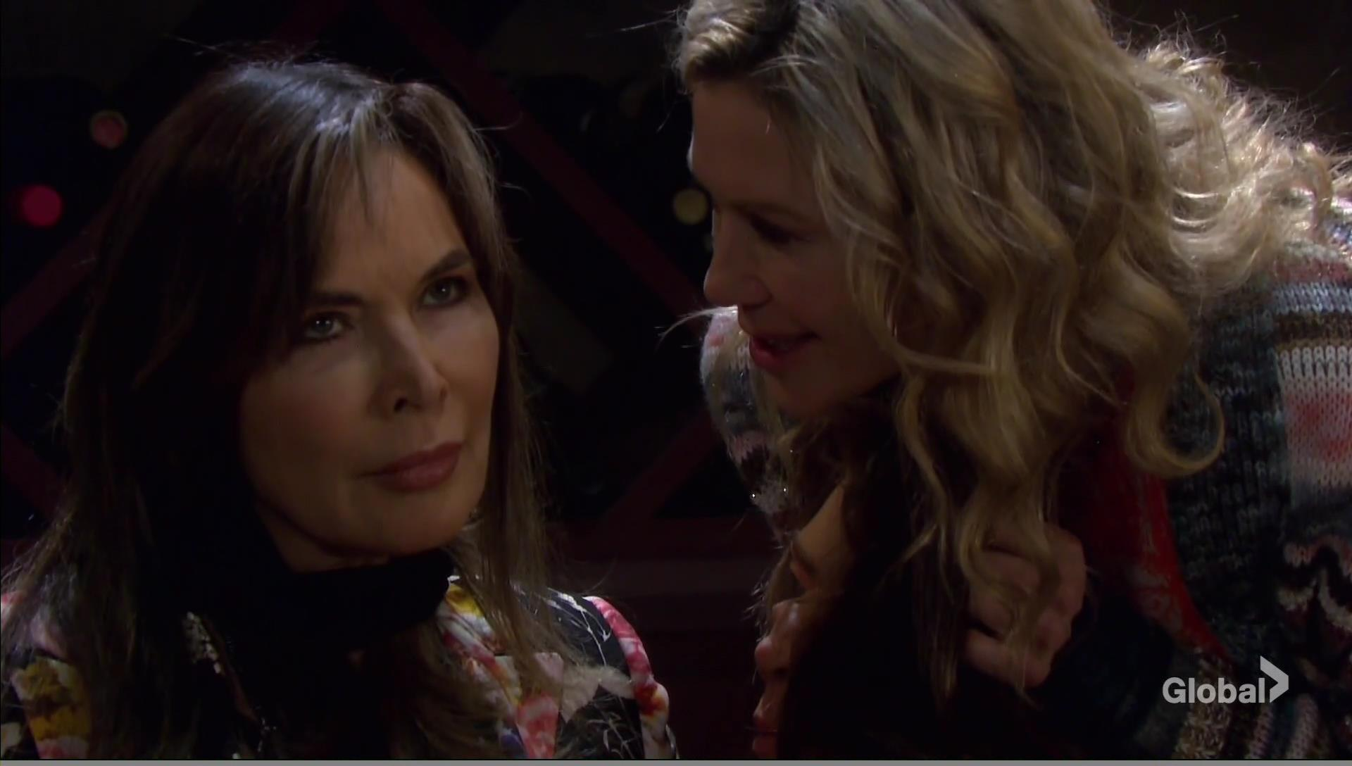 kate sees kate mask days of our lives