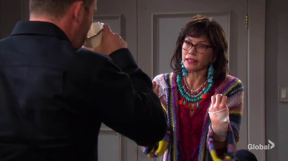 kristen disguise worries days of our lives