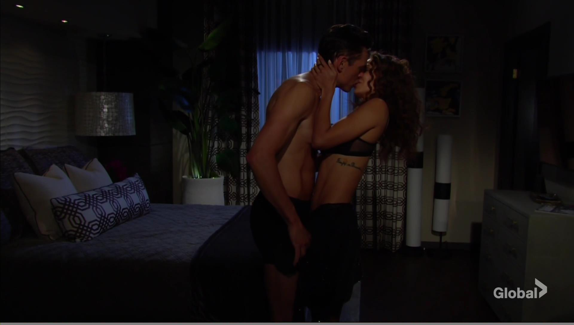 lily billy sex young restless