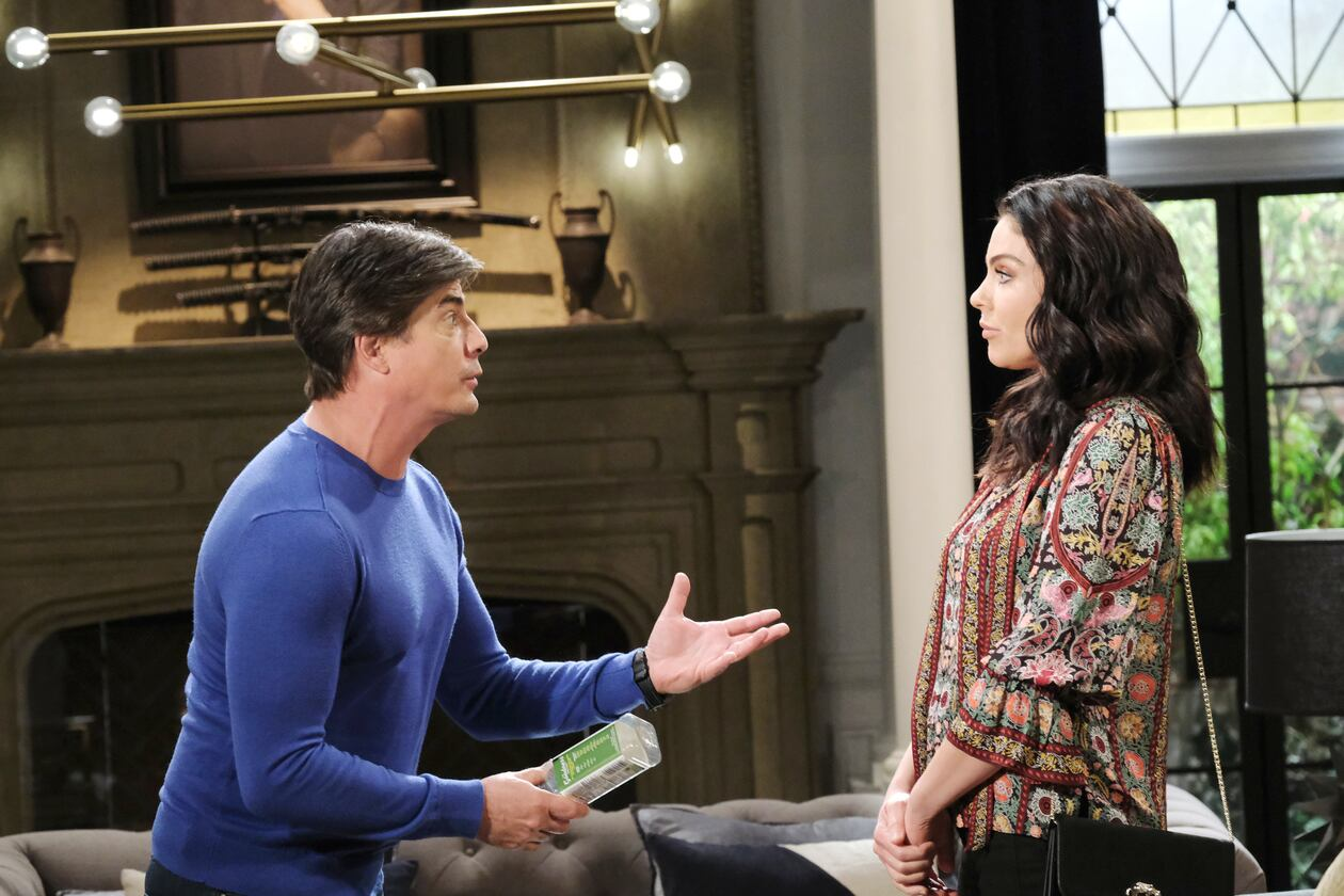 lucas with chloe talks tumor days of our lives