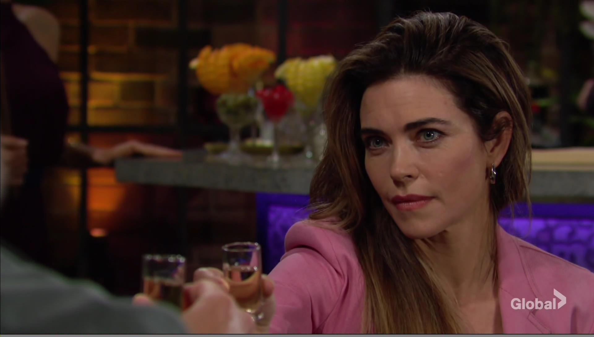 nick toasts victoria young restless
