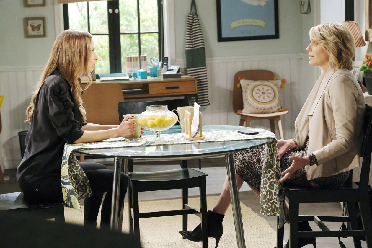 ava tells nicole she kissed rafe days of our lives