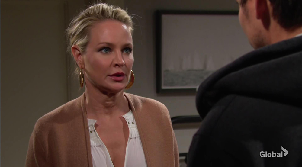 sharon adam scheming young and the restless