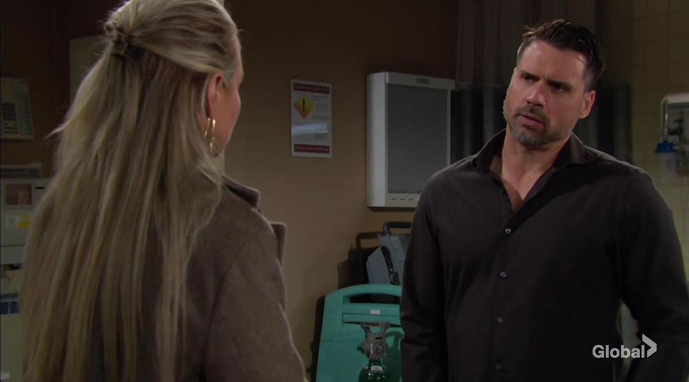 sharon tired of nick and rey young and restless