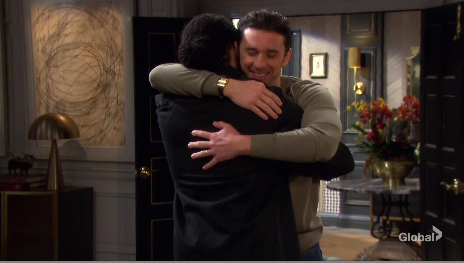 theo chad hug days of our lives