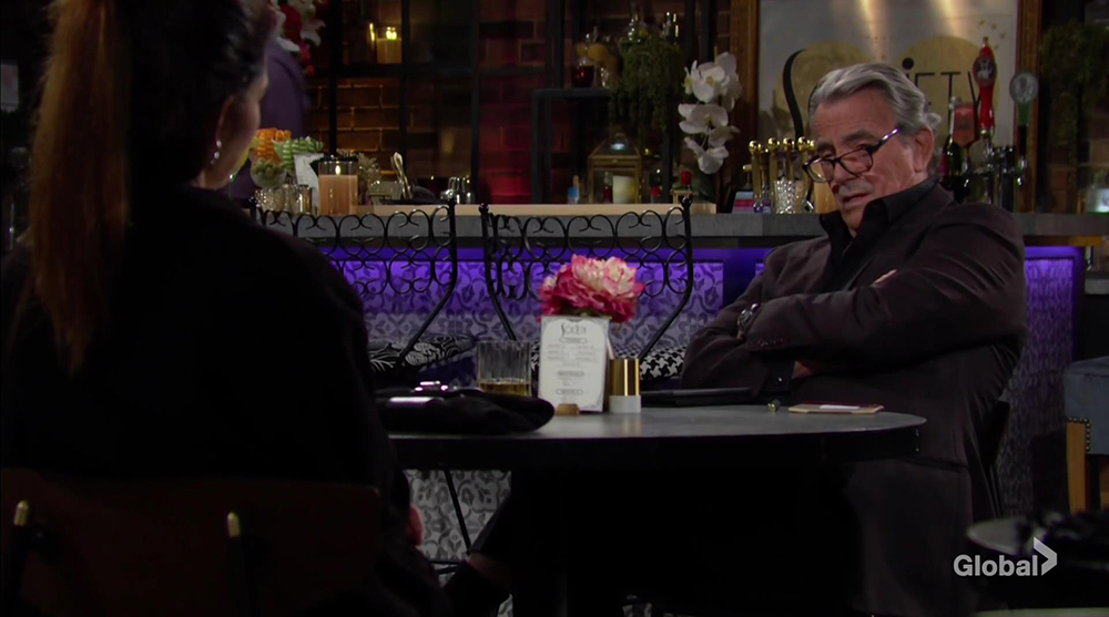 victor puts vicki on notice young and restless