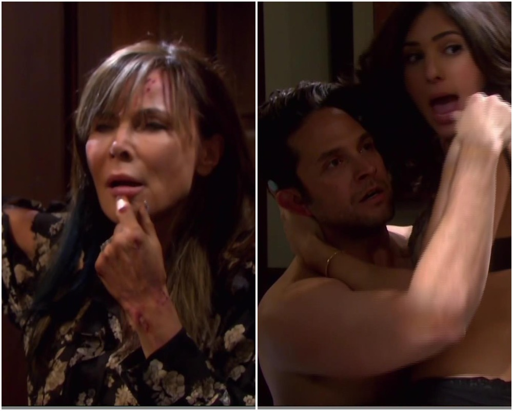 kate catches gabi jake sex days of our lives