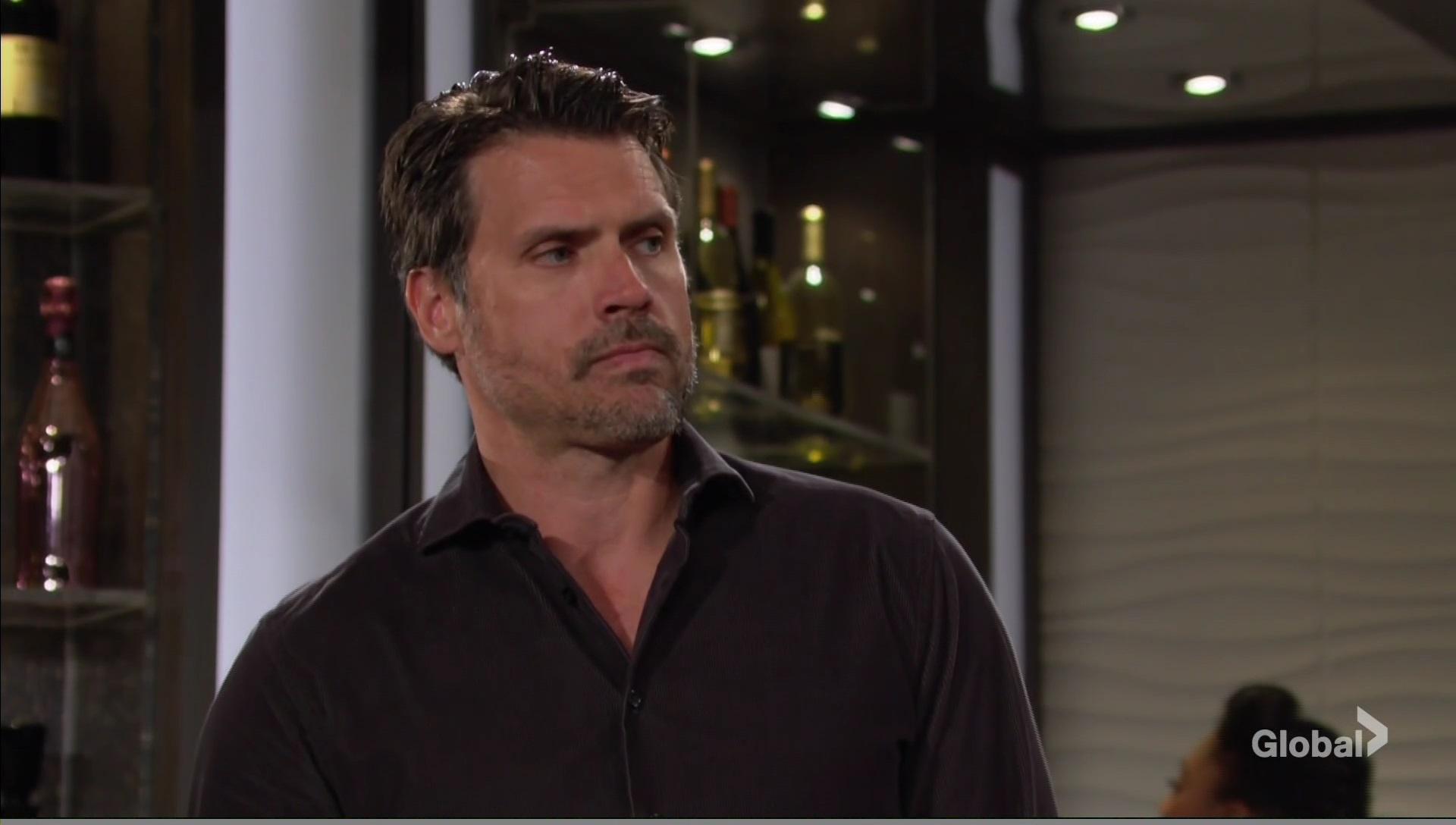 nick thinks adam annoyed young restless