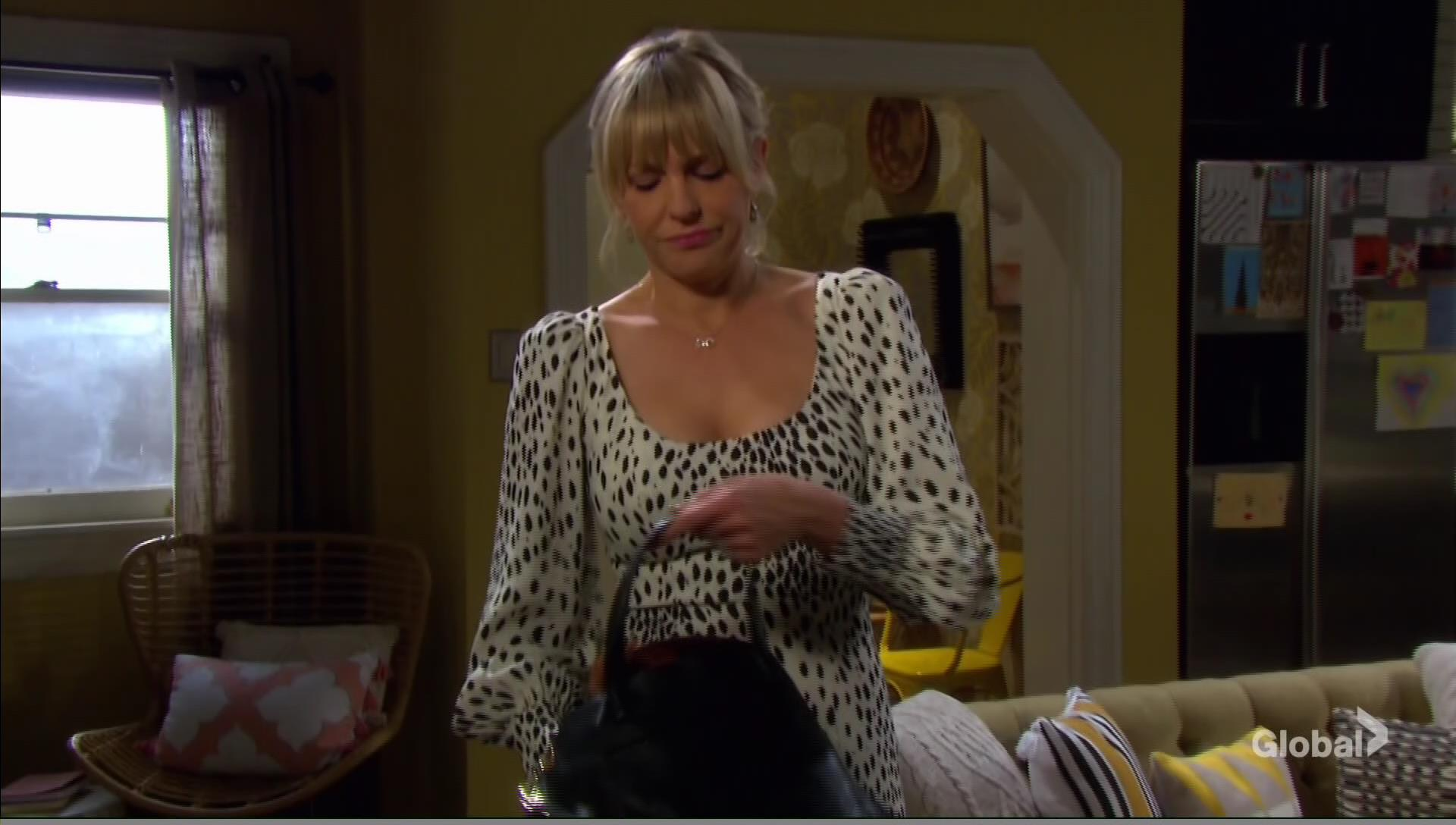 nicole with bear days of our lives