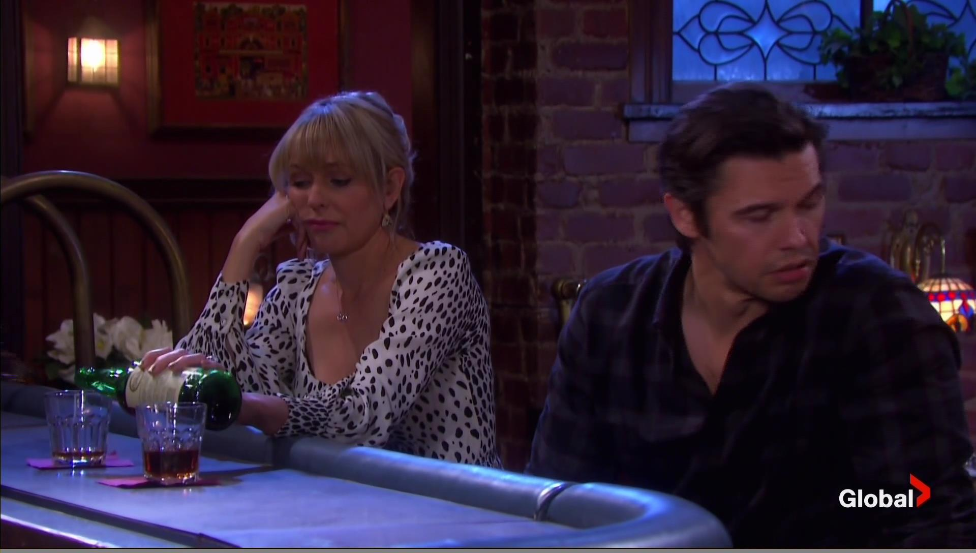 nicole xander drunk together days of our lives