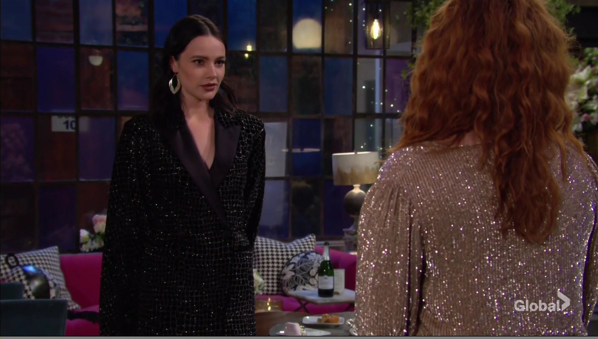 tessa mariah party young and restless