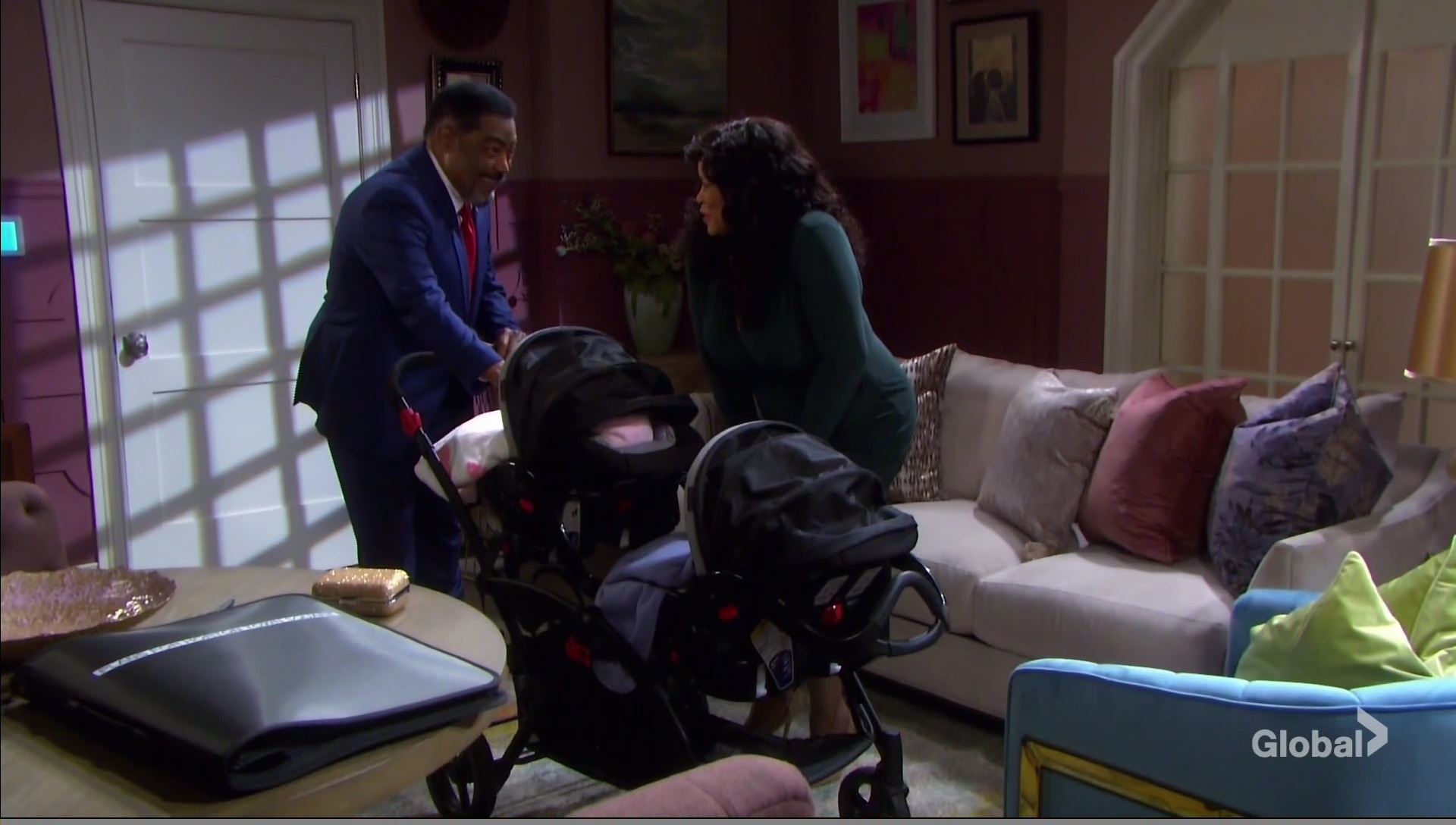 abe paulina and twins days of our lives