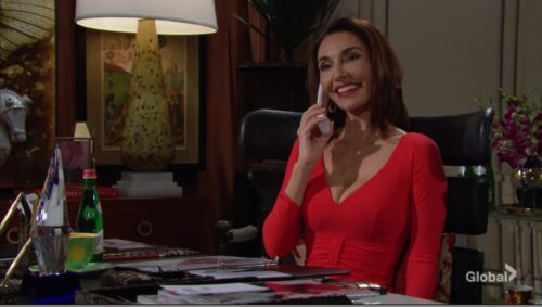 angelina job offer young restless