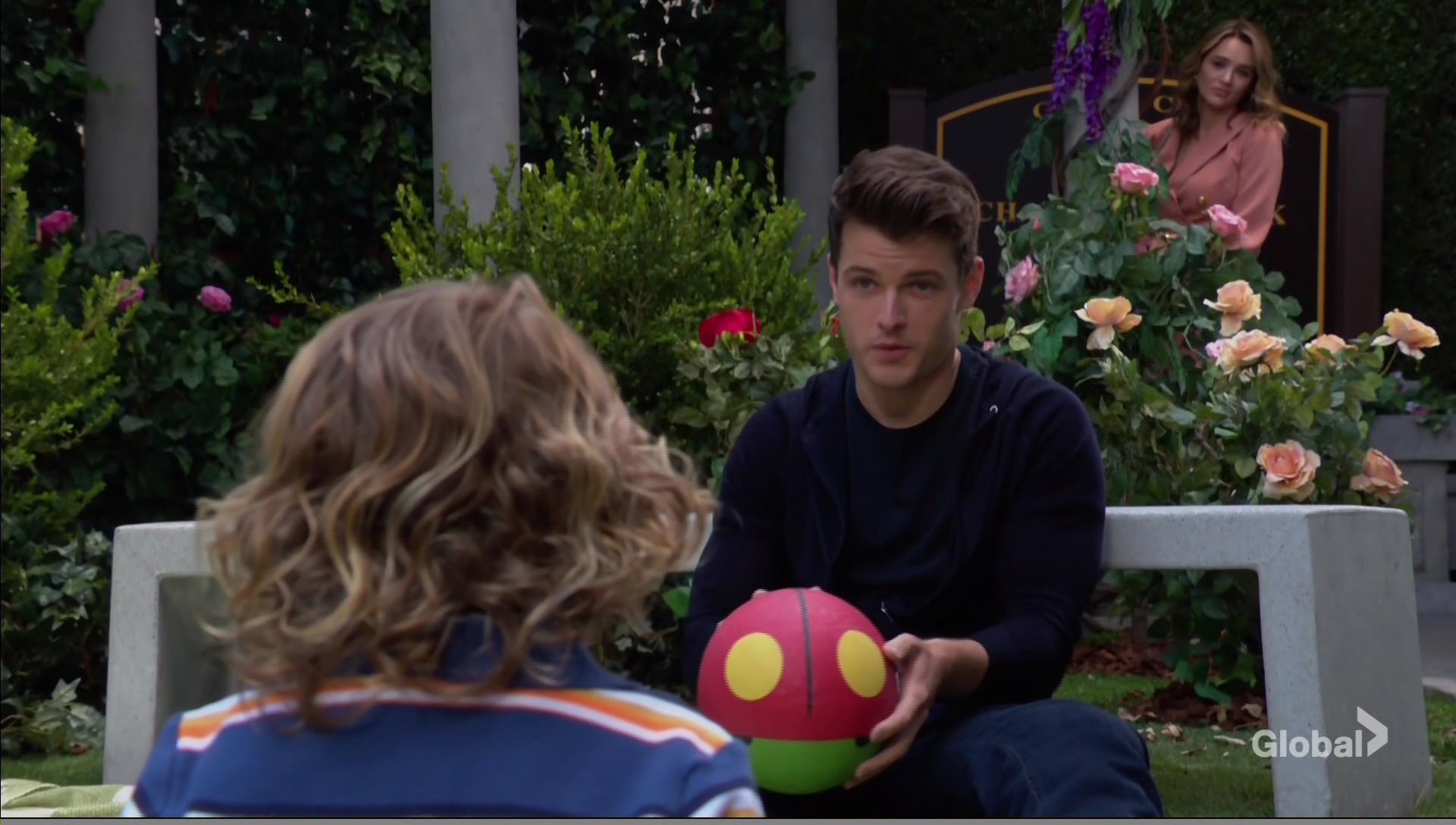 summer watches kyle and harrison young restless