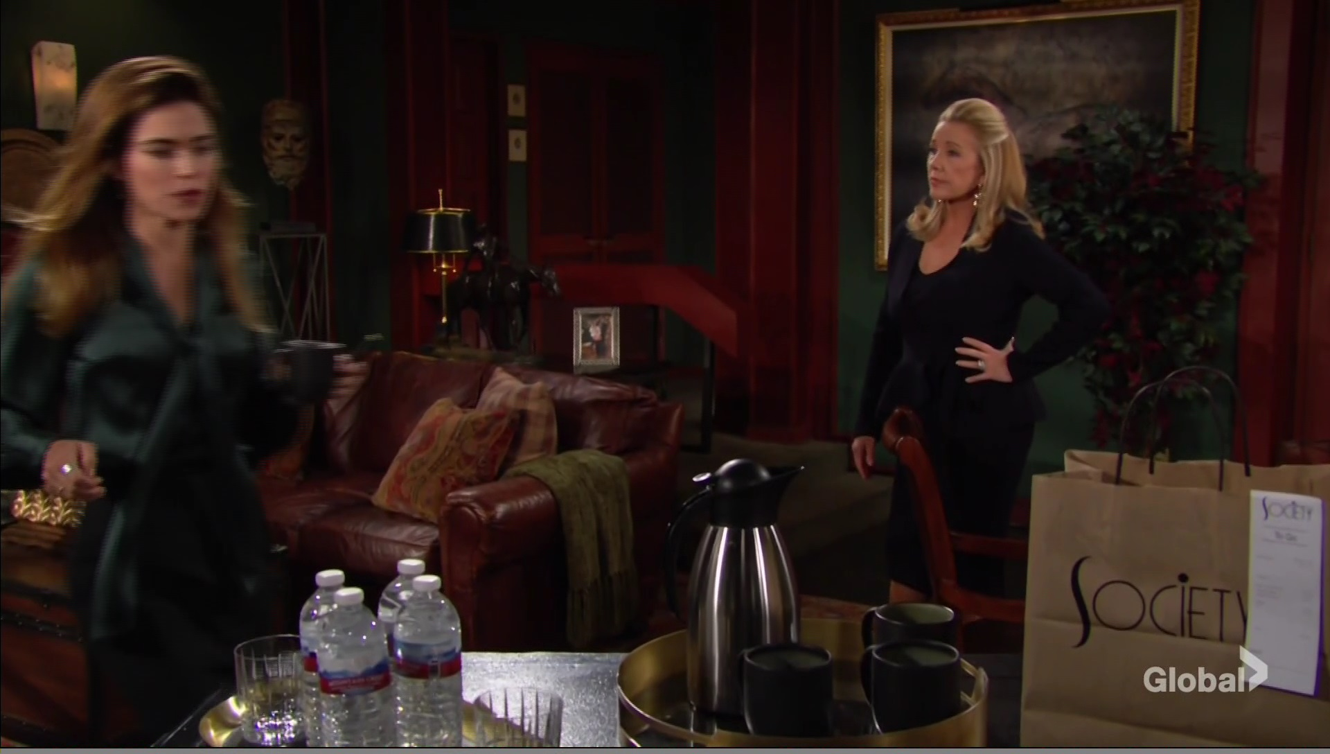 victoria good mood young restless