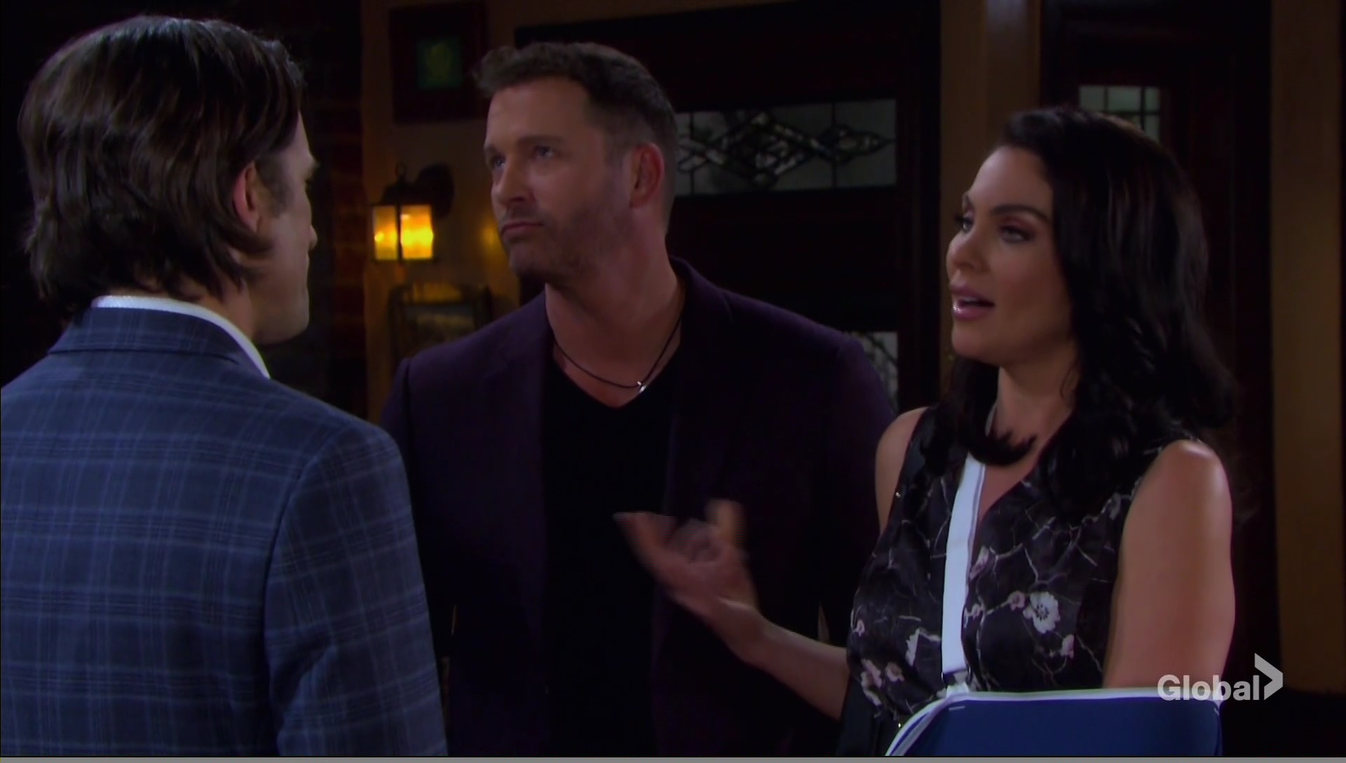 chloe invites philip party days of our lives