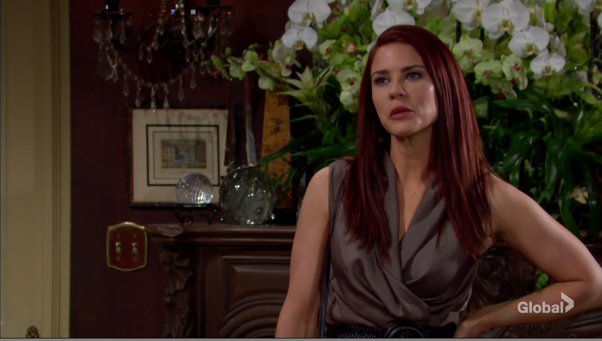 sally spies on phyllis young and the restless