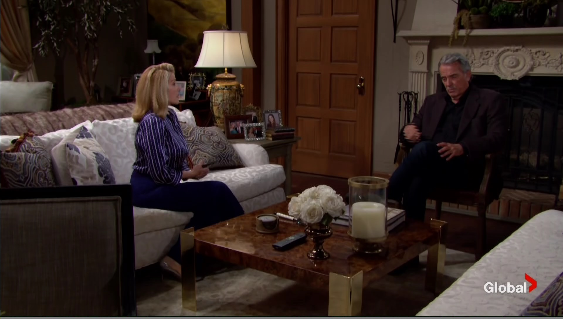 victor upset ash moving in young restless