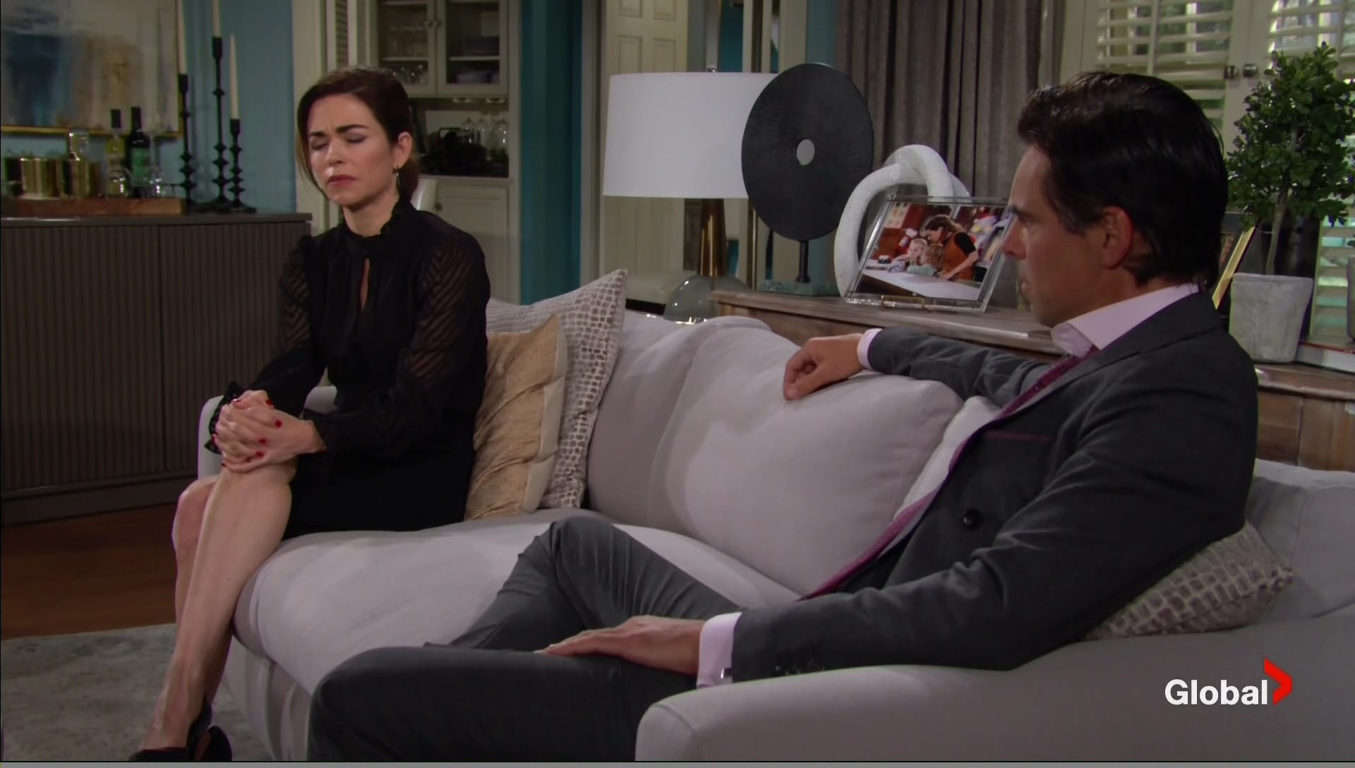 victoria billy open up ashland young and the restless