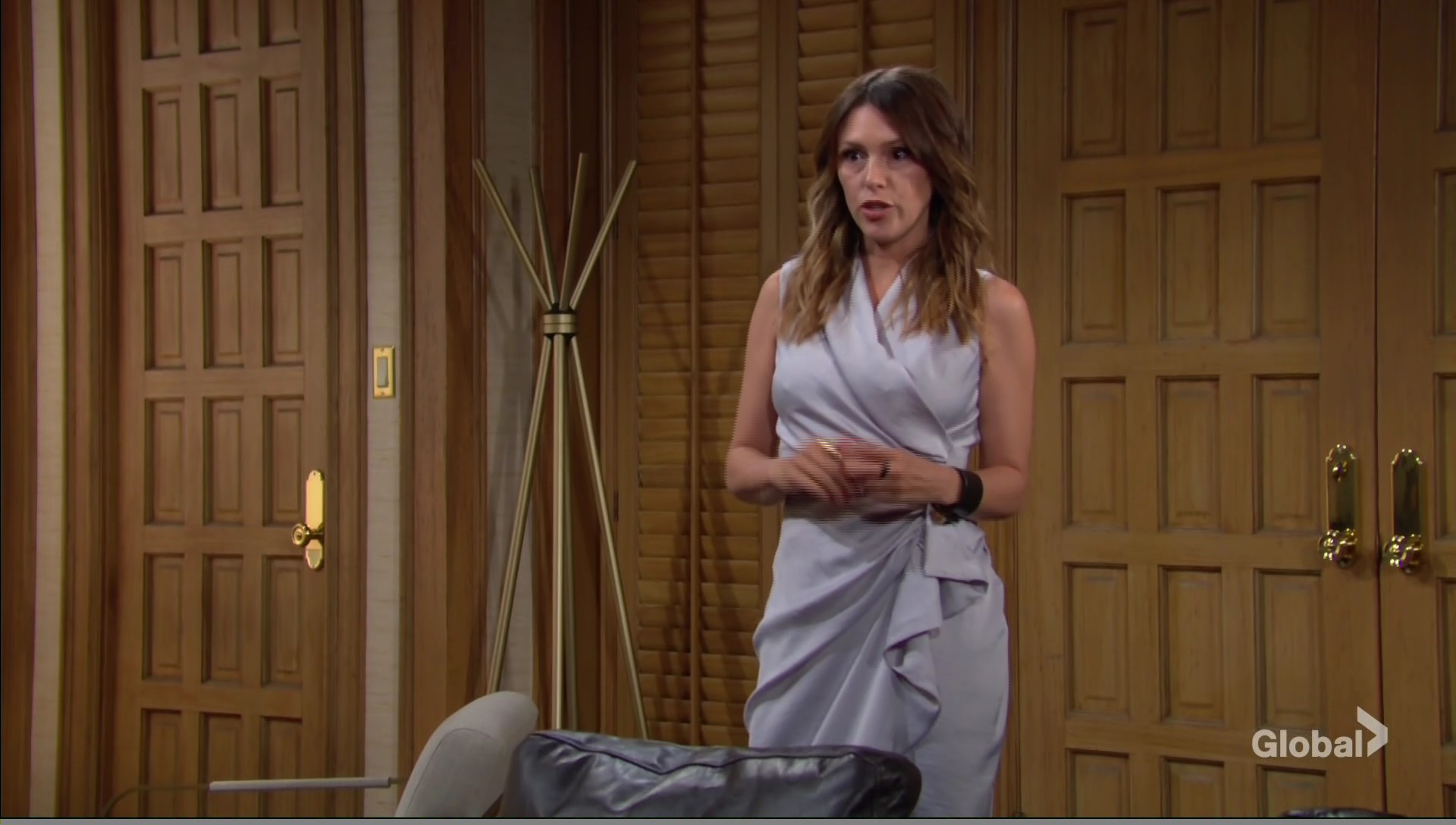 chloe argues adam young and the restless