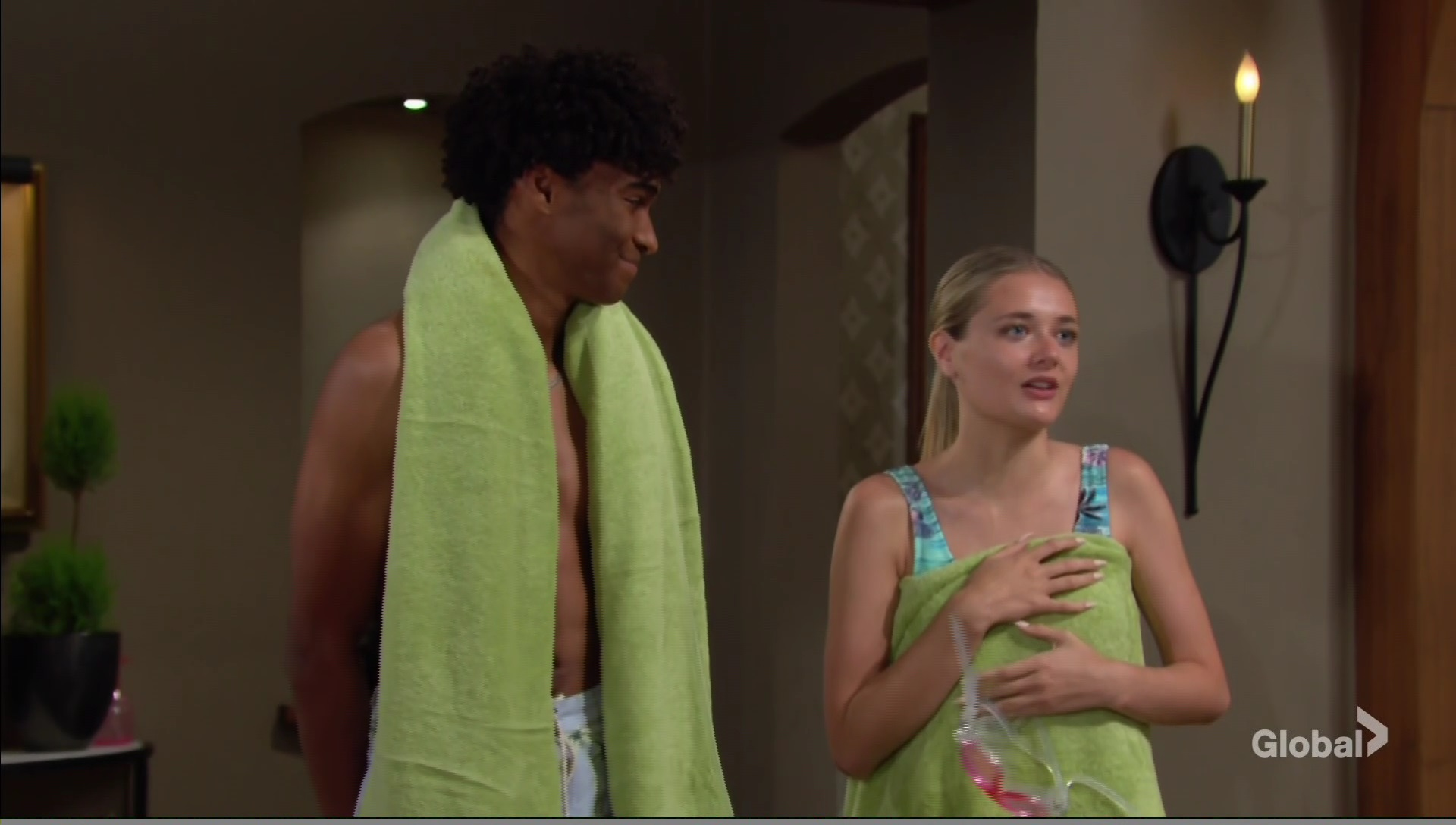 faith moses pool time young restless