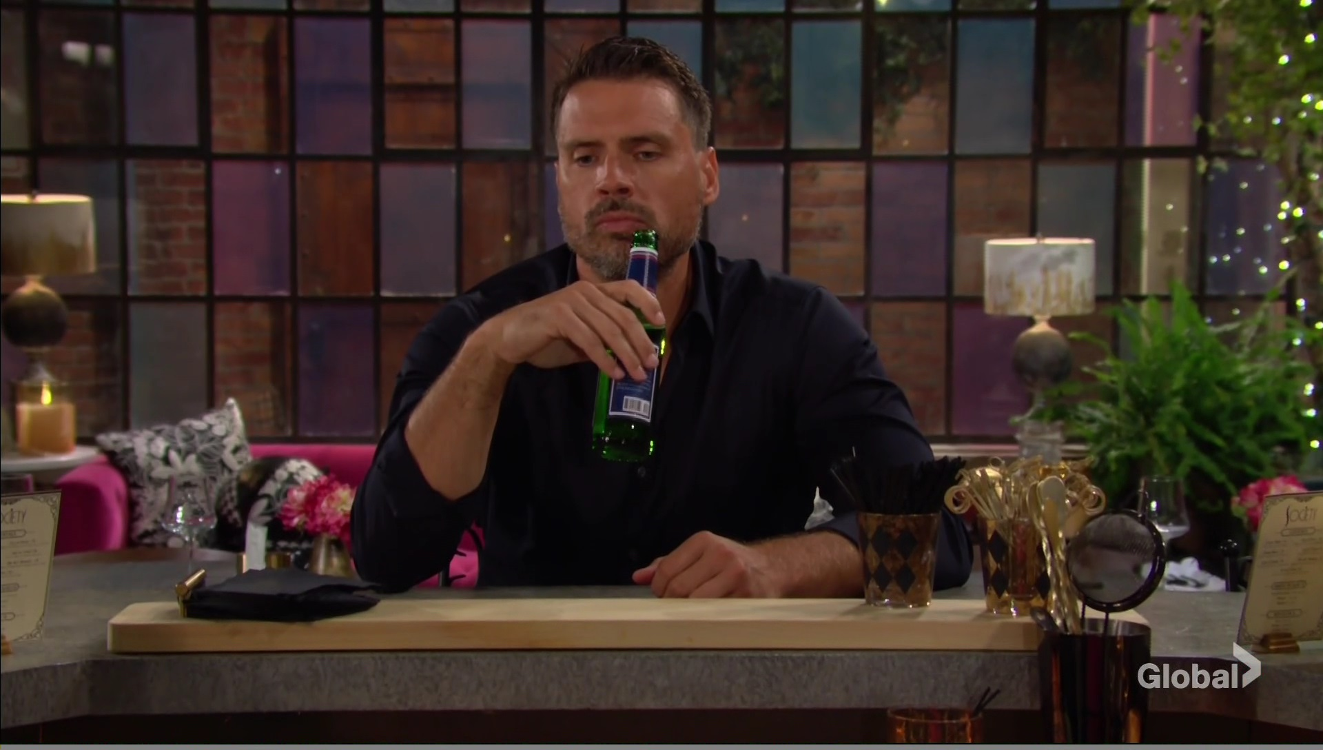 nick drinking society young restless