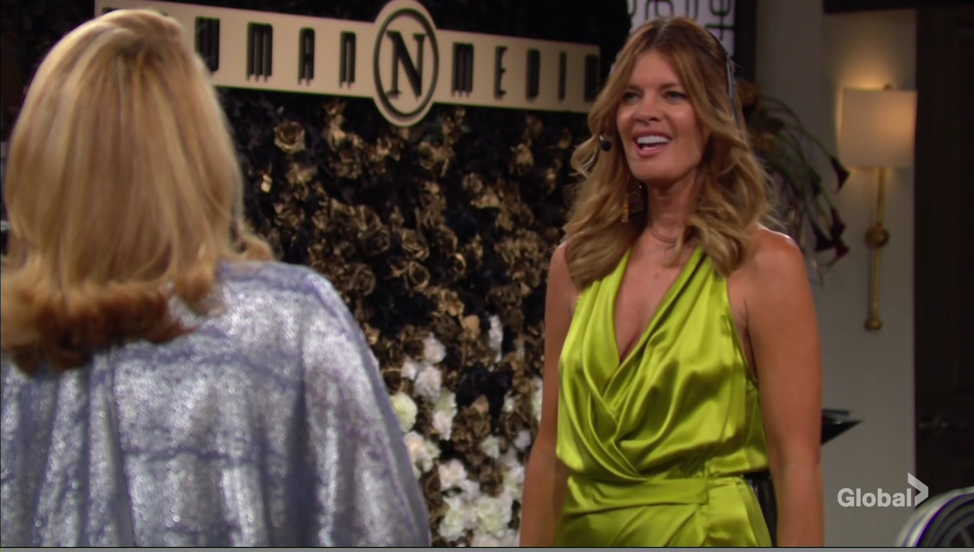 phyllis party newman media young and restless