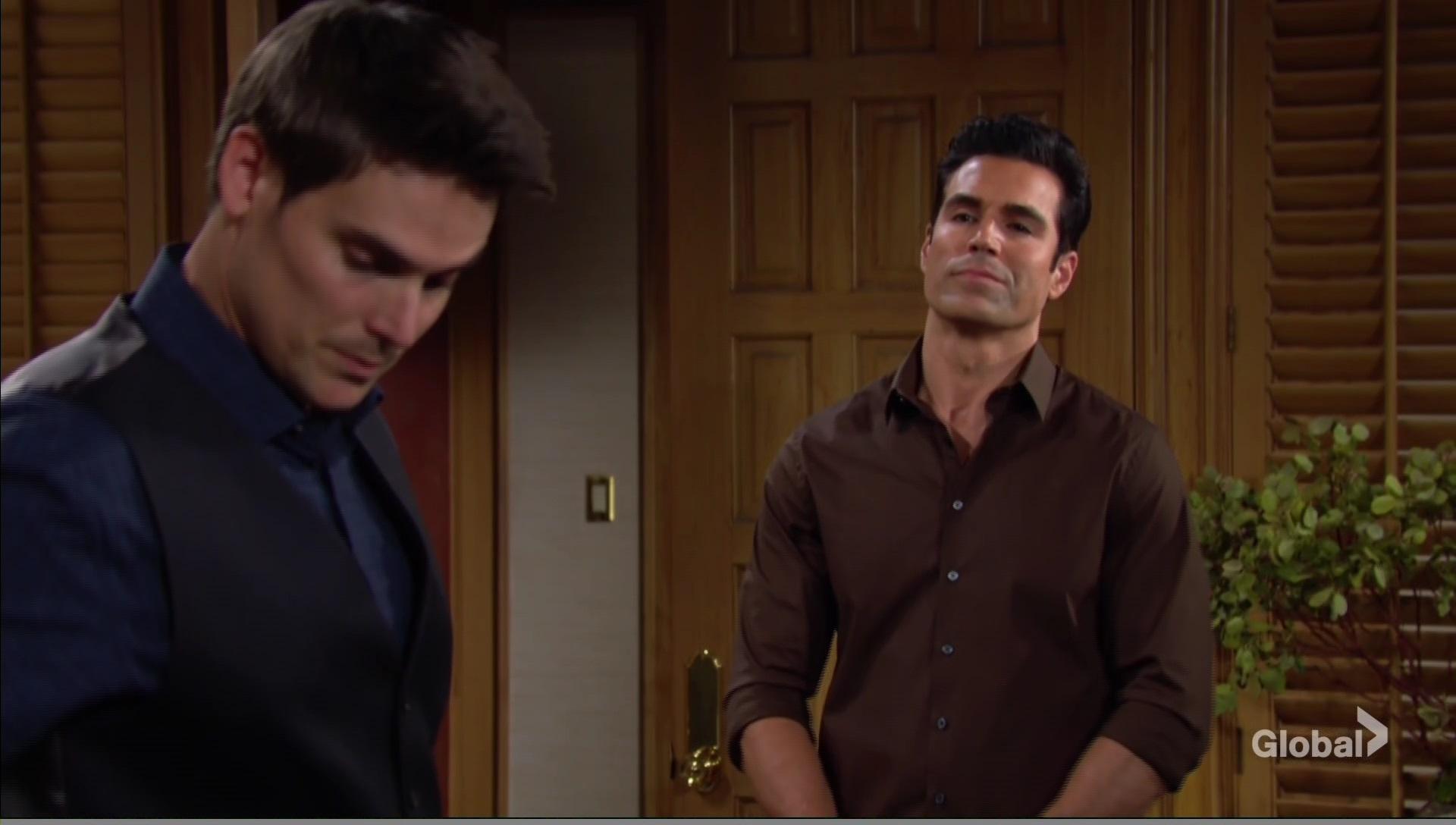rey accusing adam taking mariah young restless