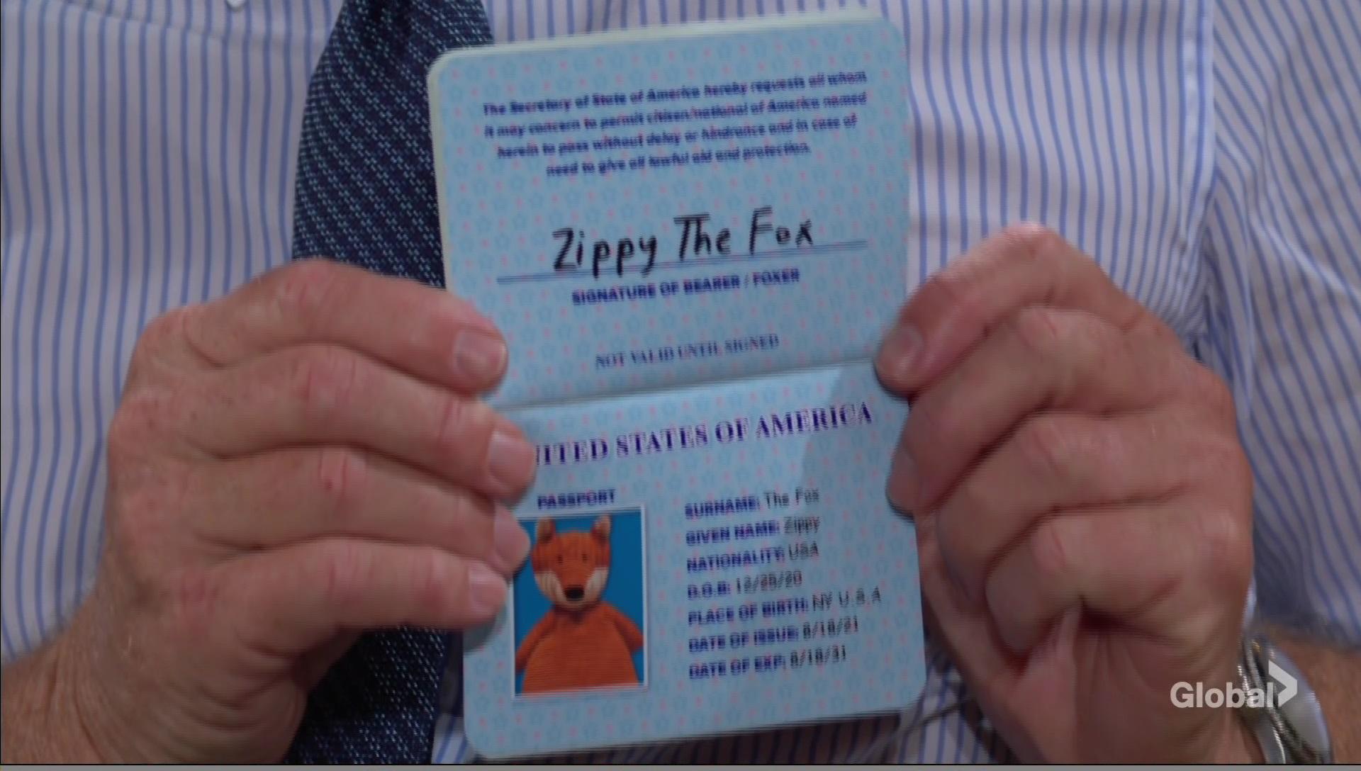 zippy harrison fox passport young and restless