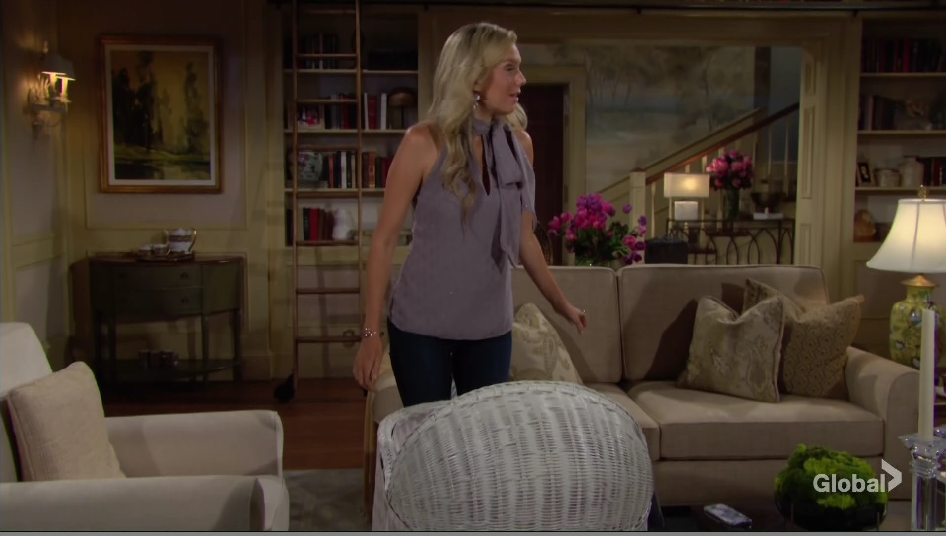 abby frets  young restless