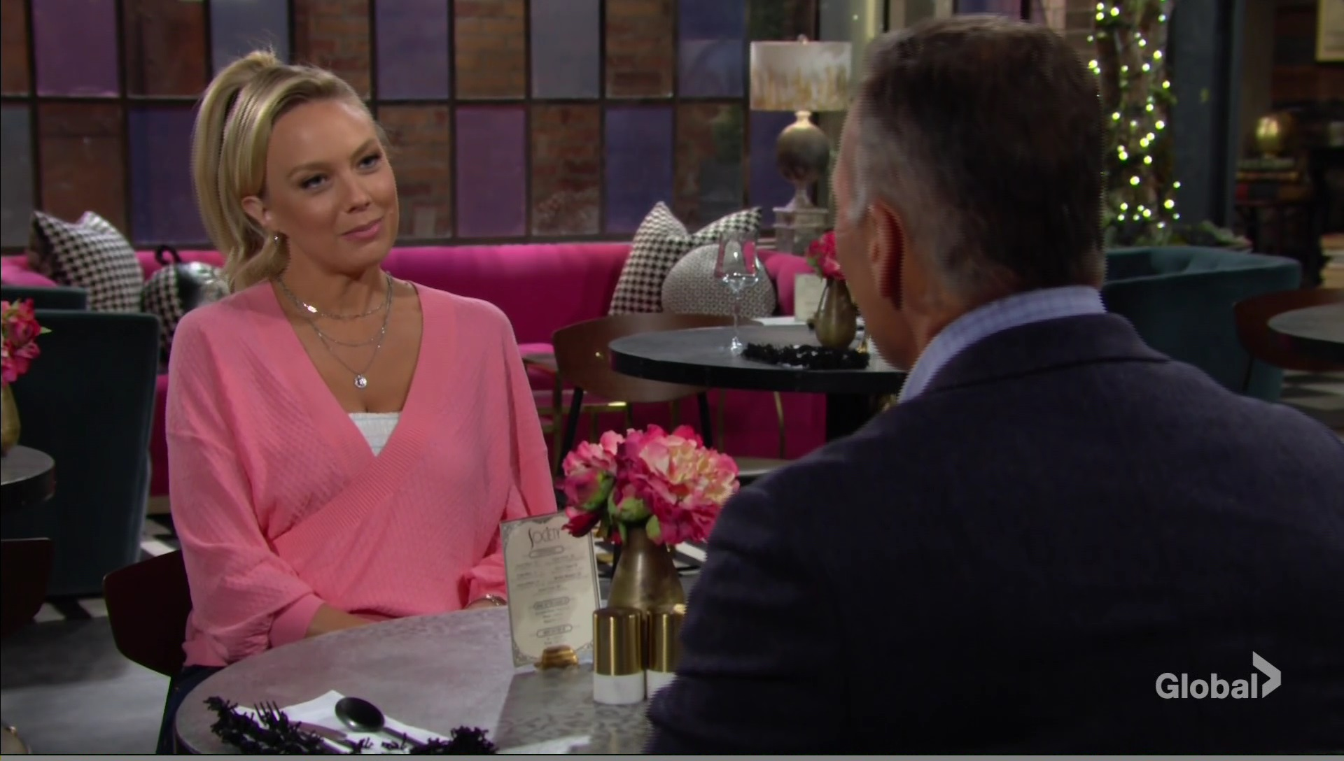 abby thinks about herself young and restless