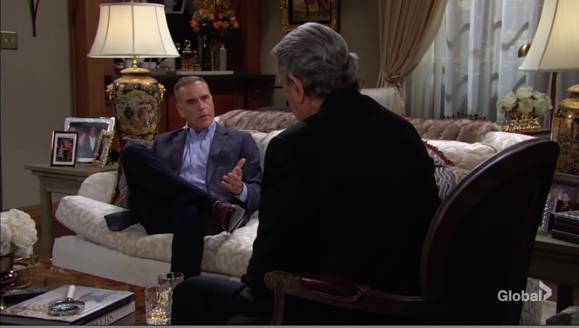 ash vic talk gaines young restless cbs