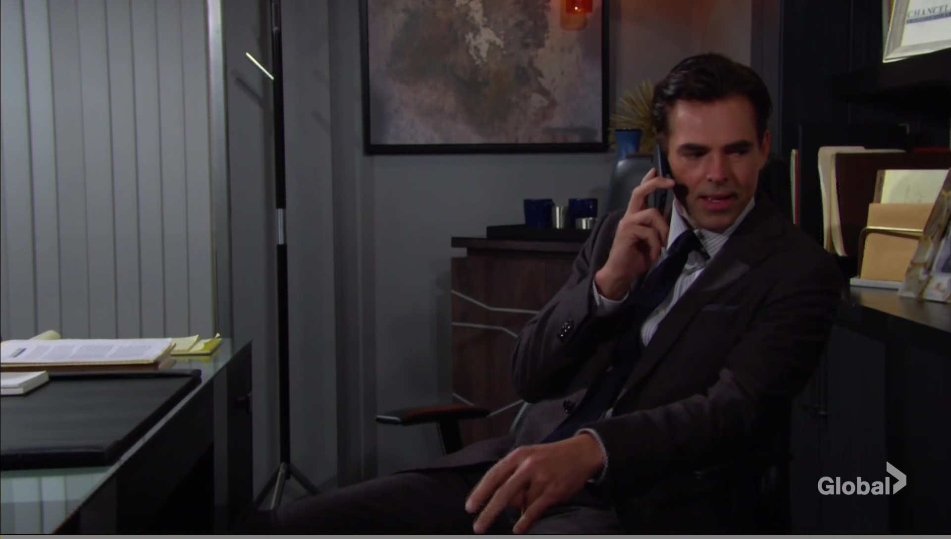 billy talks lily gaines young and the restless cbs